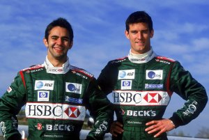 Jaguar F1 drivers