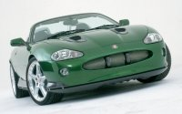 Jaguar XKR from Bond movie