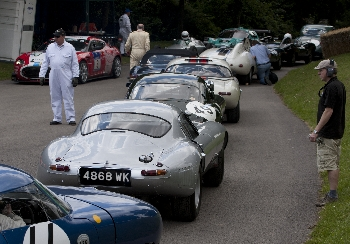 Jaguars Goodwood