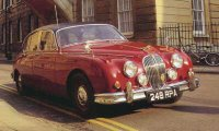 Jaguar Mark 2 - Inspector Morse