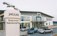 Jaguar test centre at the Nurburgring